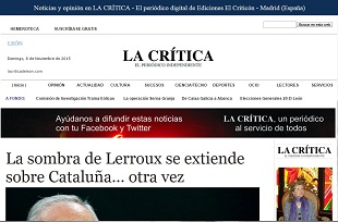 Nace lacriticadeleon.com, nuevo digital castellanoleon�s