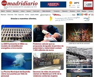 Madridiario.es comienza a trabajar con Cibeles Group